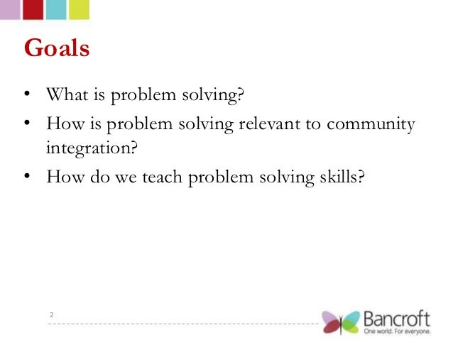 Problem solving after brain injury with bancroft Slide 2