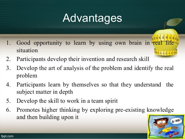 benefits of problem solving skills Creative problem solving - a practical course in creative thinking and problem solving from the thinking skills specialist, illumine training tailored to your specific needs.