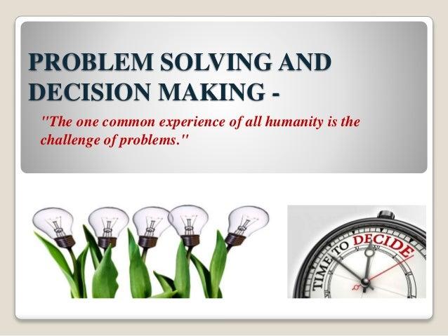 problem solving and decision making kepner-tregoe .ppt