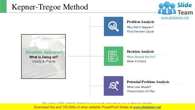 kepner tregoe problem solving and decision making ppt