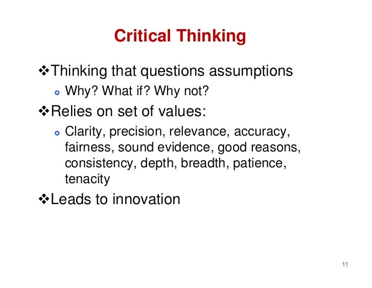 critical thinking and problem solving essay