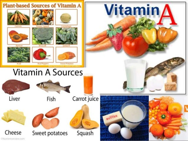 Vitamin A and its deficiency