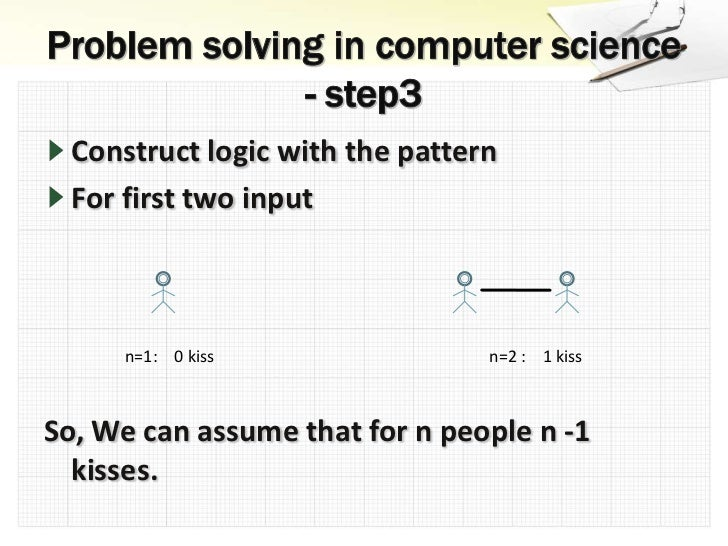 problem solving in computer science
