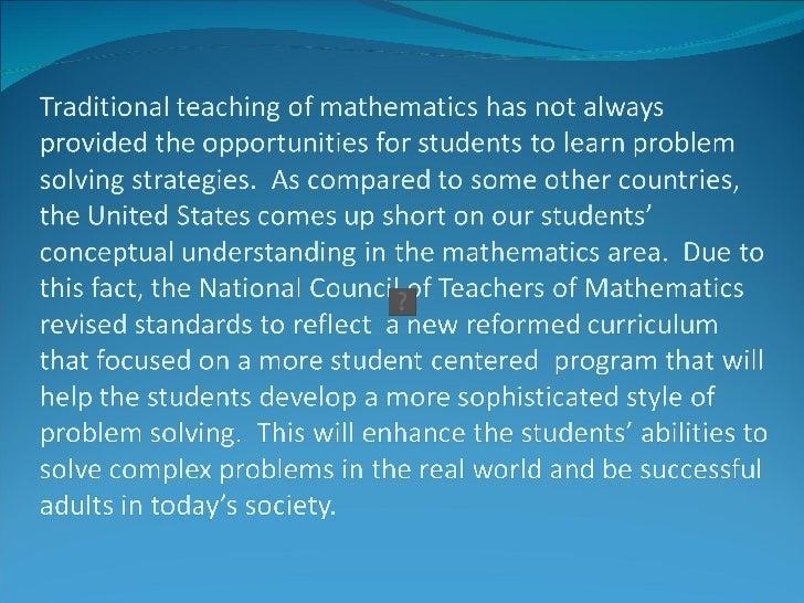 Problem Solving for Conceptual Understanding Slide 2