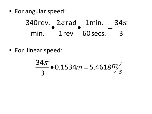 problem solving of speed