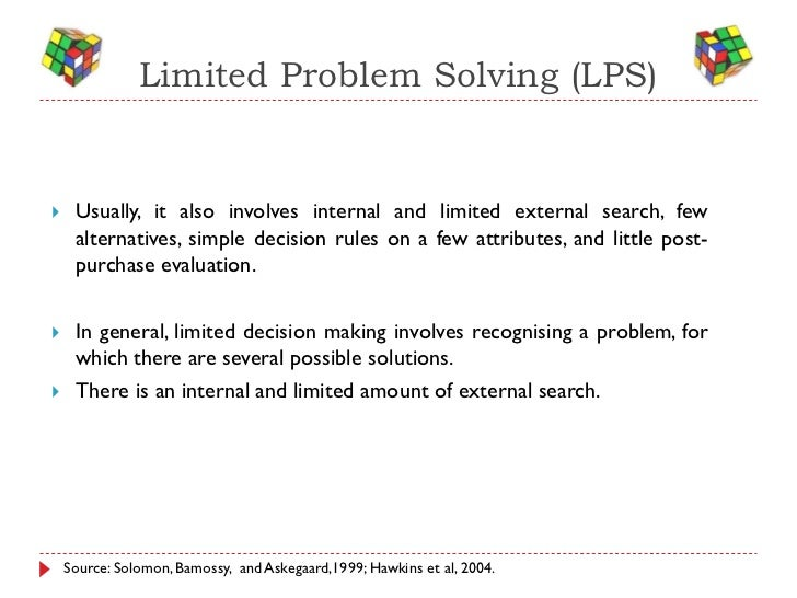extensive problem solving