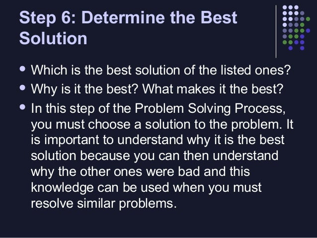 reflection paper problem solving Be followed by some examples of problem solving with transformations of reflection with transformations many real world problems can be easily.