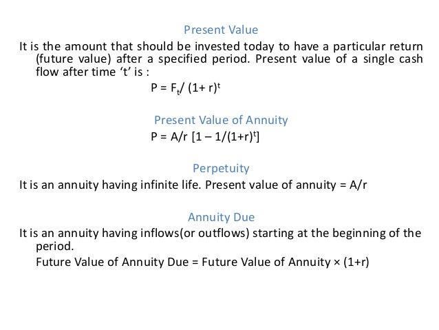 annuity due problems and solutions pdf