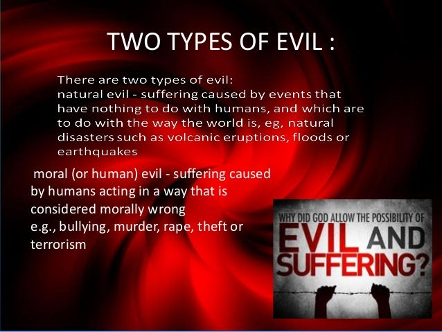 types of human suffering