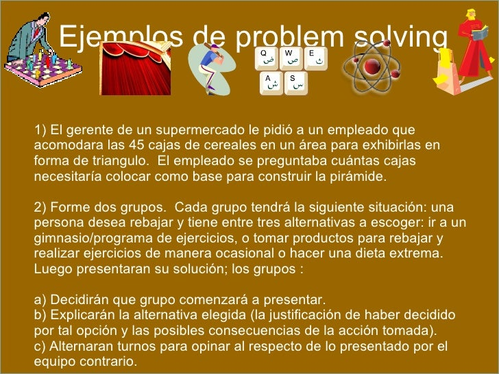 ejemplos de ejercicios de problem solving y data sufficiency