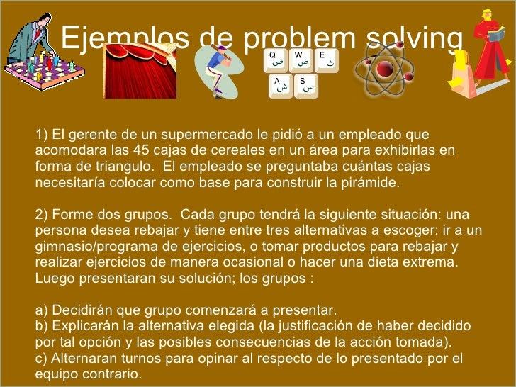 ejemplos de ejercicios de problem solving y data sufficiency