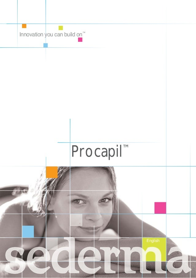 Procapil™ English Innovation you can build on™