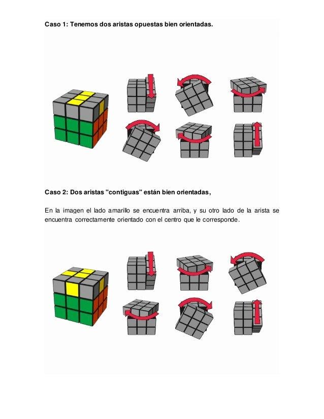 Procedimiento Para Armar El Cubo De Rubik