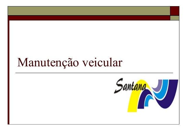 Manutenção veicular