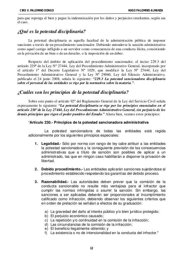 CIRO V. PALOMINO DONGO HUGO PALOMINO ALMANZA  para que reponga el bien y pague la indemnización por los daños y perjuicios...