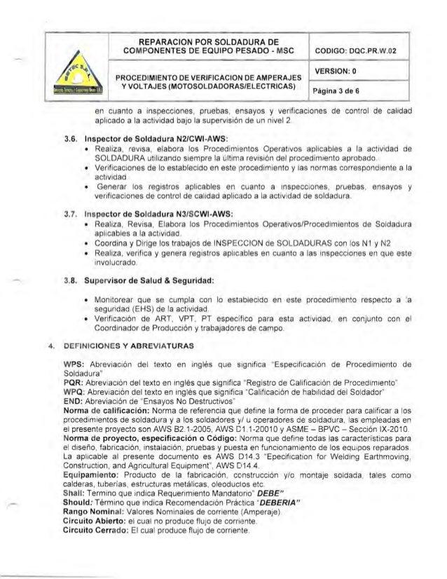 Procedimiento caliobracion maquinas soldar - Grupo de soldadura ...