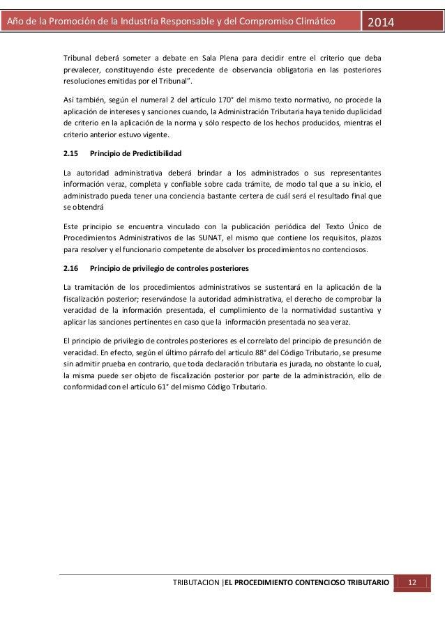 Año de la Promoción de la Industria Responsable y del Compromiso Climático  2014  Tribunal deberá someter a debate en Sala...