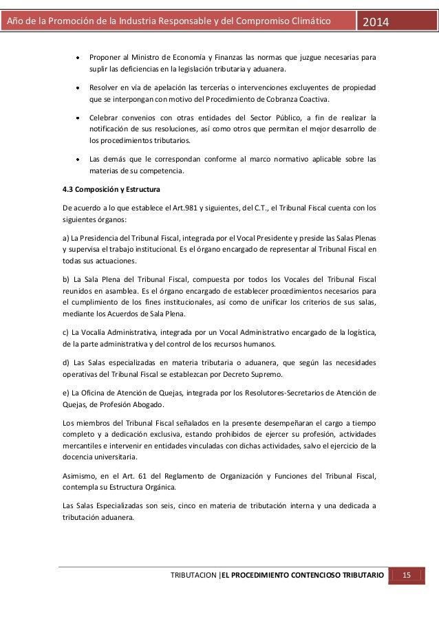 Año de la Promoción de la Industria Responsable y del Compromiso Climático  2014  Proponer al Ministro de Economía y Finan...