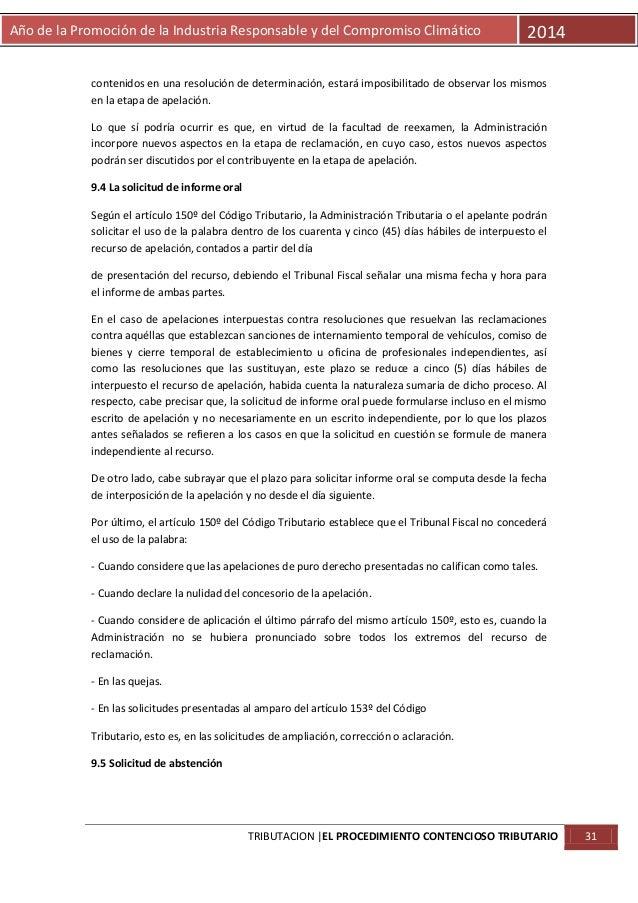 Año de la Promoción de la Industria Responsable y del Compromiso Climático  2014  contenidos en una resolución de determin...