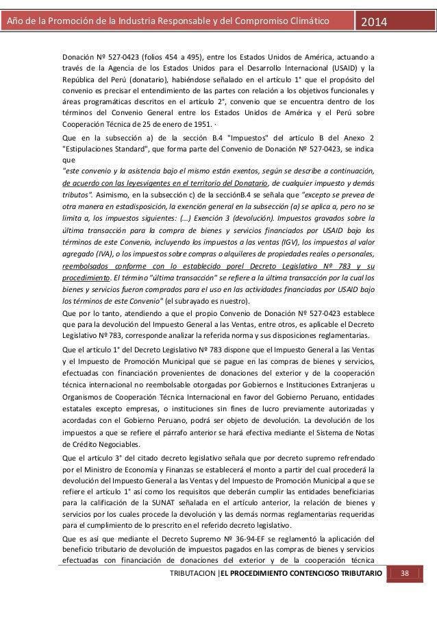 Año de la Promoción de la Industria Responsable y del Compromiso Climático  2014  Donación Nº 527-0423 (folios 454 a 495),...