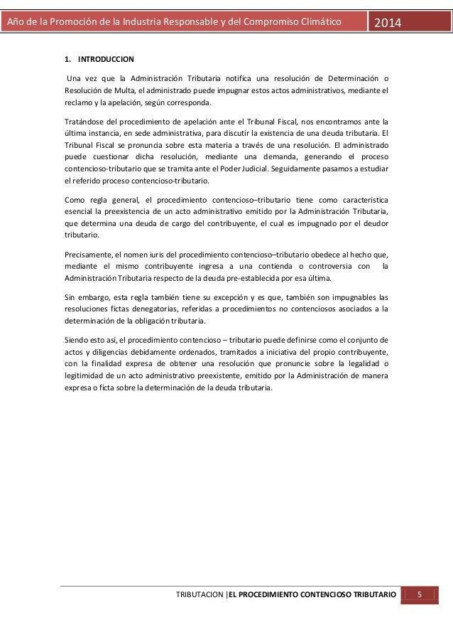 Año de la Promoción de la Industria Responsable y del Compromiso Climático  2014  1. INTRODUCCION Una vez que la Administr...