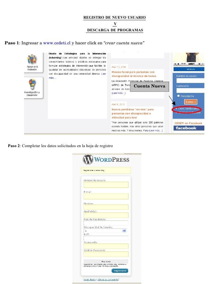 336eab7d7bcc6 Procedimiento registro usuario y descarga de programas