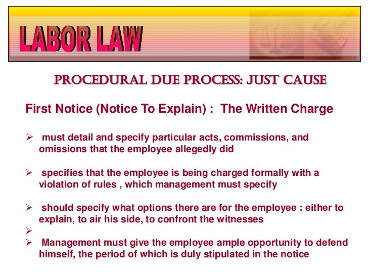 procedural due process Procedural due process refers to the aspects of the due process clause that relate to the procedure of arresting and trying persons who have been accused of crimes it also applies to any other government action that deprives an individual of life, liberty, or property.