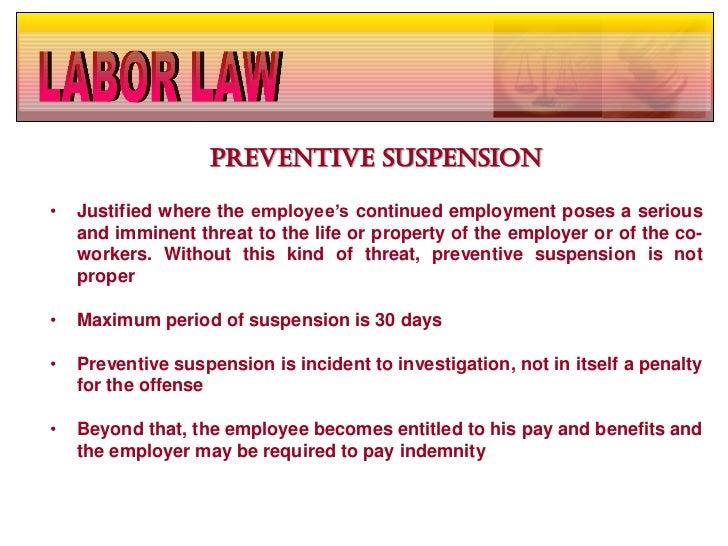 Procedural due process preventive suspension 28 altavistaventures Choice Image