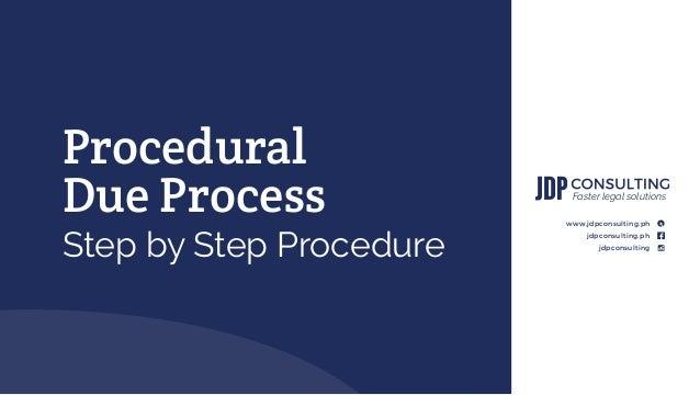 Procedural due process essay