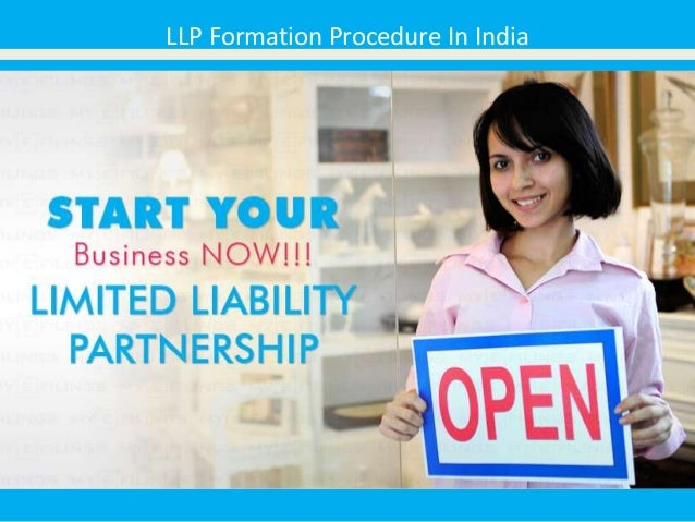 LLP Formation Procedure In India
