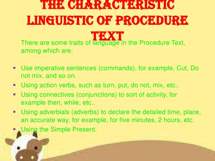 Procedure text how to make ice cream ccuart Gallery