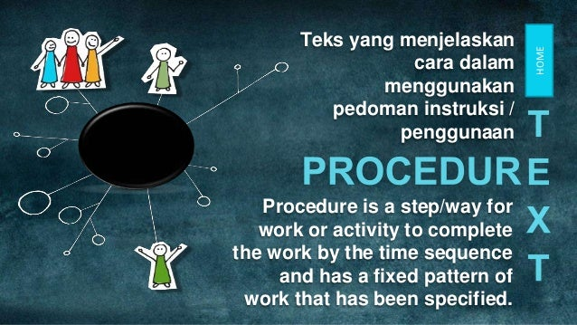 text procedure how to make
