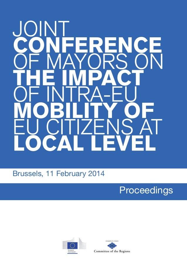 Brussels, 11 February 2014 Proceedings