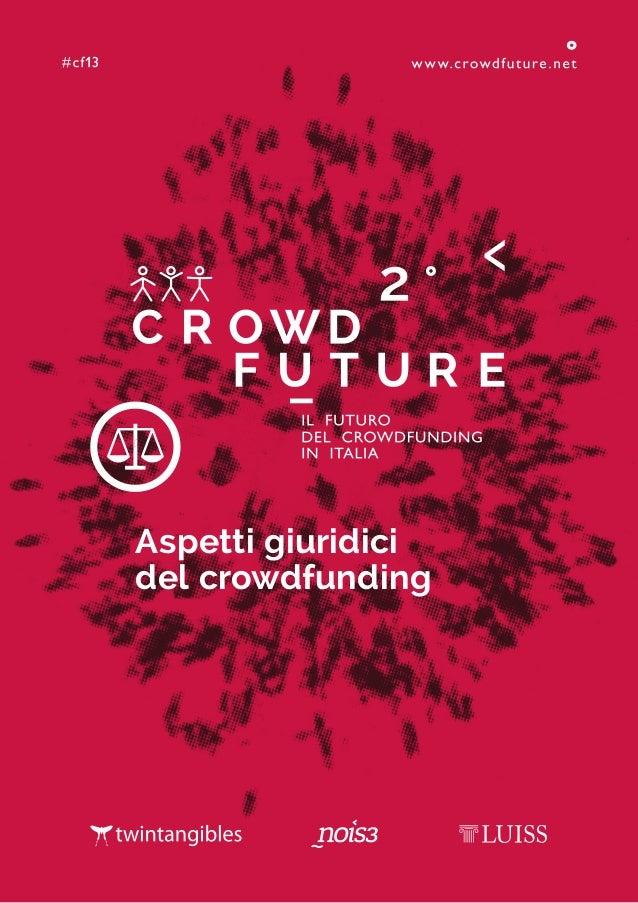 Aspetti giuridici del crowdfunding