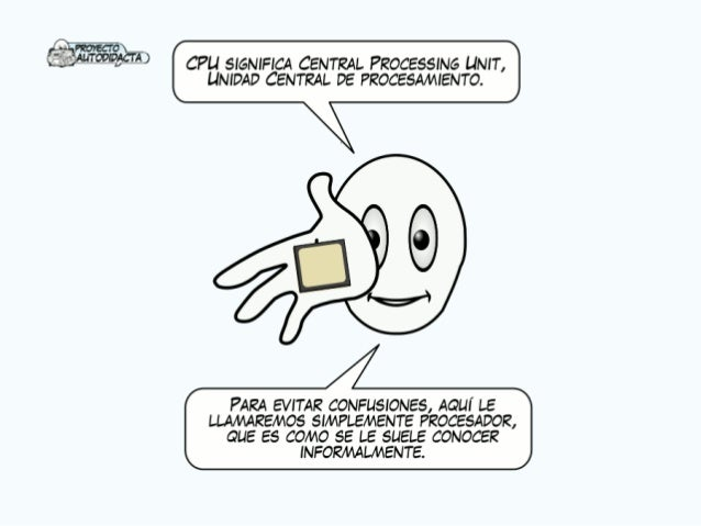 _ Ñ PzorEcro_ AuTovmAcrA                    CPU SIGNIFICA CENTRAL PROCESSING UNIT,  UNIDAD CENTRAL DE PROCESAMIENTO.      ...