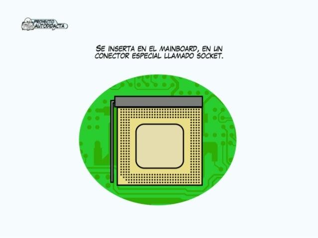 fl' PEOYECTO_ AuTomDAcrA  SE INSERTA EN EL MAINBOARD,  EN UN CONECTOR ESPECIAL LLAMADO SOCKET.