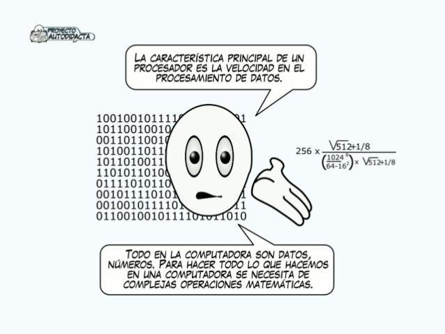 _ Ñ Pzonscro_ AUTODIDACTA                                        LA CARACTERÍSTICA PRINCIPAL DE UN PROCESADOR ES LA VELOCI...