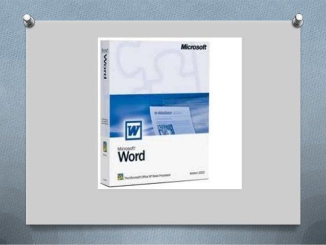 Procesador de textos word Slide 3