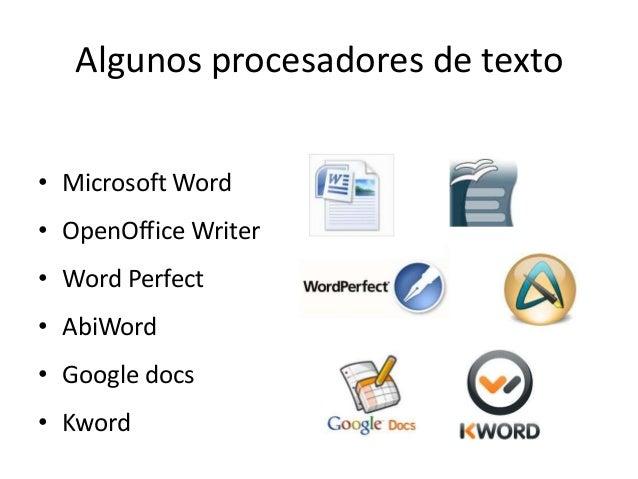 Procesador De Textos Word 2010