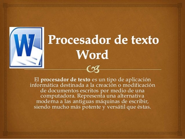 procesador de texto word 12345345345345345