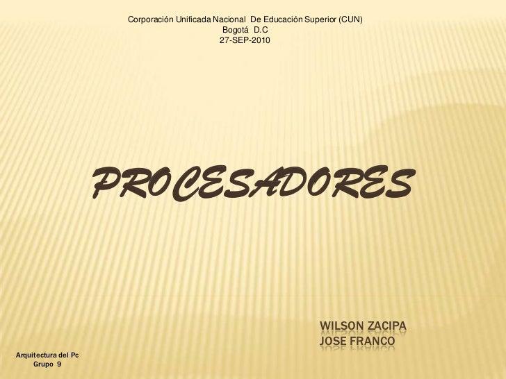 Corporación Unificada Nacional De Educación Superior (CUN)                                               Bogotá D.C       ...