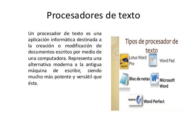 Procesadores De Texto Power Point