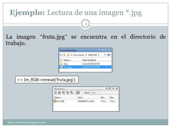 Procesamiento digital de imágenes con matlab Slide 3