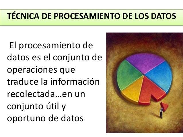 Procesamiento, tratamiento y presentación estadistica de datos Slide 2