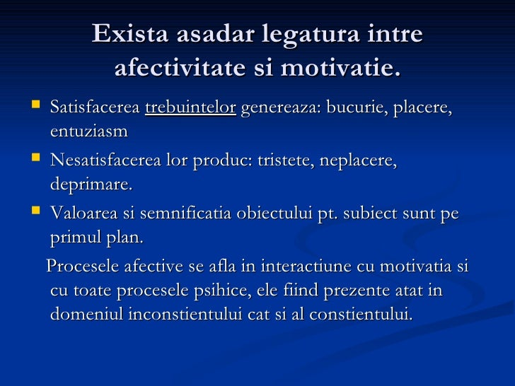 Procesepsihicereglatorii afectivitate Slide 3