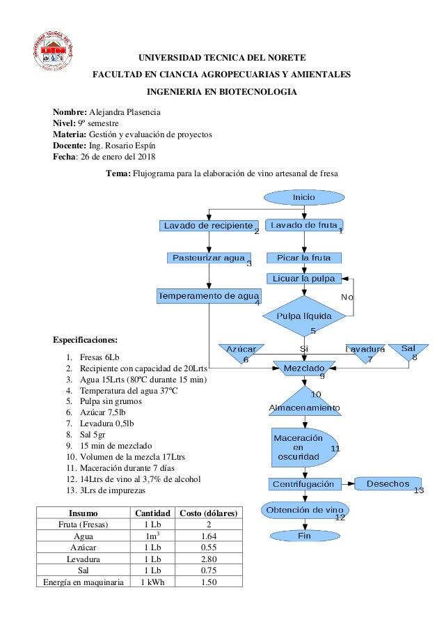 Diagrama de flujo elaboracin de vino artesanal diagrama de flujo elaboracin de vino artesanal universidad tecnica del norete facultad en ciancia agropecuarias y amientales ingenieria en biotecnologia ccuart Gallery