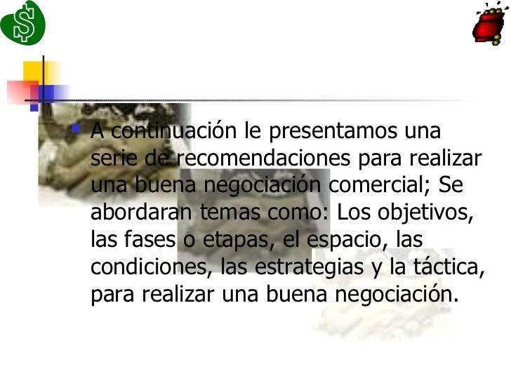 PROCESO DE NEGOCIACIÓN Slide 2