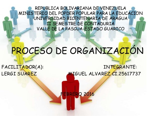 REPUBLICA BOLIVARIANA DE VENEZUELA MINISTERIO DEL POPDER POPULAR PARA LA EDUCACION UNIVERSIDAD BICENTENARIA DE ARAGUA II S...