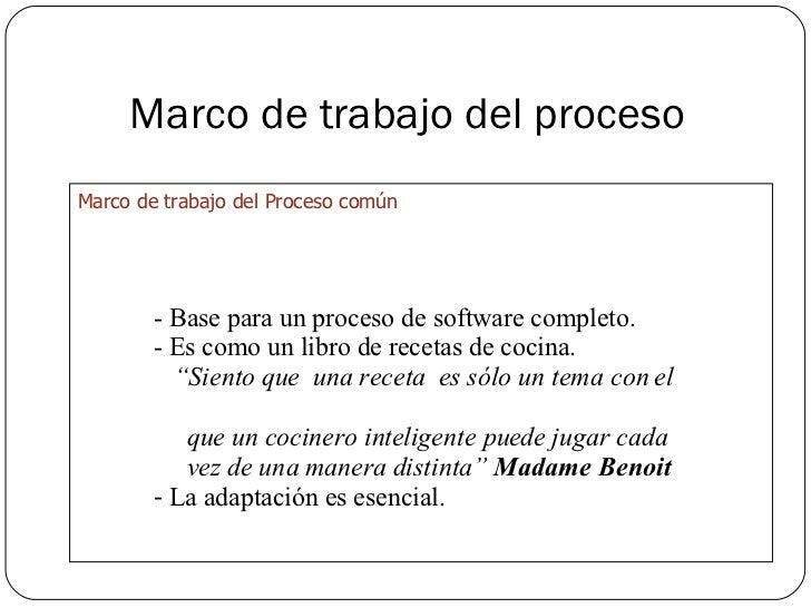 Proceso del software una visi n general for Libro procesos de cocina