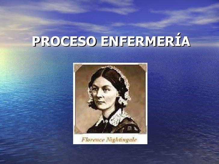 PROCESO ENFERMERÍA